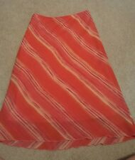Peach summer skirt juniors size 7