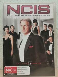 NCIS : Season 3 (DVD, 2007, 6-Disc Set) R4 Terrific Condition