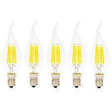 5er-Pack E14 6W Glühfaden LED Kerze Lampe 2700K Warmweiß 420 Lumen Nicht Dimmbar