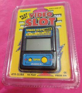 Retro Radica Video Slot 5000  Model 470 Handheld Electronic Game CS3BA