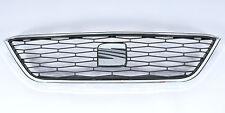 Original SEAT Kühlergrill Ibiza 6J Modelljahr 2014, satinschwarz komplett mit ve