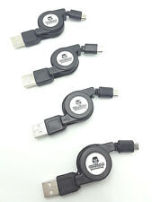 Retractable Micro Usb Charging Charger Cable Cord for Android Pack LOT