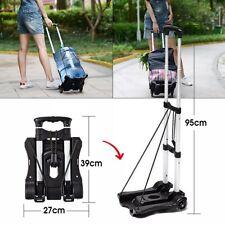 Shopping Trolley Transport Sack Hand Cart Portable Foldable Folding Luggage