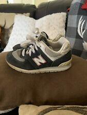 New Balance 574 Shoes Kids Youth Boys Size 10 Usa Navy/White/Red