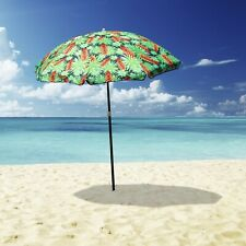 Outdoor Beach Umbrella Tropical 1.8m Sun Shade w/ Carry Bag Tilt Pool Outdoor