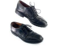 Allen Edmonds Mapleton Bicycle Toe Shoes Lace Up Oxfords Black Leather Men's 10D