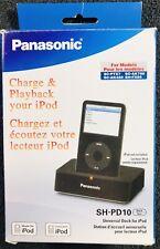 New Panasonic SH-PD10 Universal Dock for Older Model iPod/iPhone 30 Pin