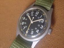 Vintage Benrus Military Issue Wrist Watch ... GG W 113 ... Vietnam Era