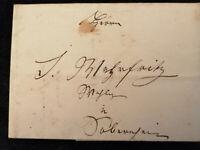 Vorphilatelie Altdeutschland 1839 (?) - Brief Faltbrief  WZ       Nr.18
