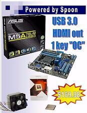 ASUS M5A78L-USB3 Motherboard AMD FX 8350 4GHz Combo USB 3.0