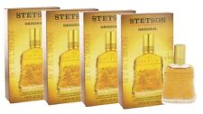 Lot of 4 Stetson Original By Coty Aftershave Cologne 1.75Oz edition Collector's