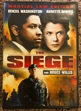 The Siege (DVD, 2007, Martial Law Edition) Denzel Washington - Brand New!!!