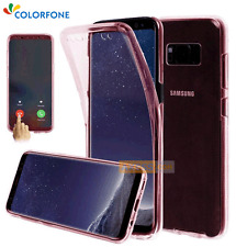 COQUE ANTICHOC Gel Intégrale FULL COVER Rose / SAMSUNG Galaxy S8