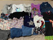 Huge Girls Clothing Lot Size 7-8 7 8 EUC Shirts pants EUC