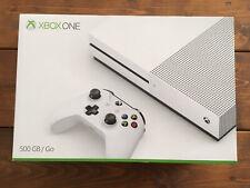 Microsoft Xbox One S 500GB Home Console - White - Original Box + 1 Controller