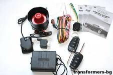 Universal Car Security Alarm System 2 Remote Controls Shocking Sensor #2264 New