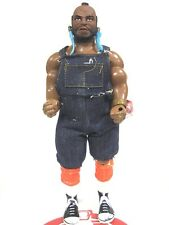 "A-Team Action Figure 12"" B.A. Baracus Ba Mr. T w Earrings Galoob Damaged Hip"
