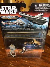 2015 Star Wars Micro Machines Speederbike Speeder AT-ST Luke Skywalker Imperial