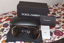 Dolce & Gabbana AVIATOR Sunglasses DG 6078 POLARIZED WITH CASE, CLOTH & PAPERS