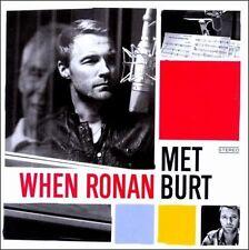 RONAN KEATING & BURT BACHARACH When Ronan Met Burt CD BRAND NEW