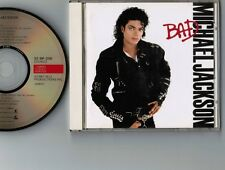 MICHAEL JACKSON Bad JAPAN CD 1987 1st issue w/Booklet 32.8P-200 No Obi