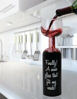Ultimate Wine Bottle Glass Holds a Whole Bottle Drink 750ml - Big Mouth Toys