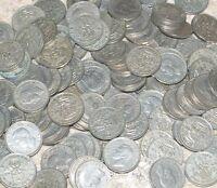 1947 -1952 Hoard of Shilling Bulk Lot George VI Shillings  50 OR 100 Coins