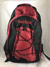 REEBOK Black Red Bookbag Backpack - BACK TO SCHOOL