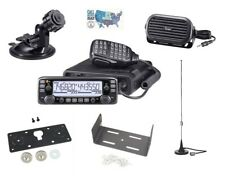 Icom IC-2730A VHF/UHF Radio and Accessory Bundle for  Mobile Installations
