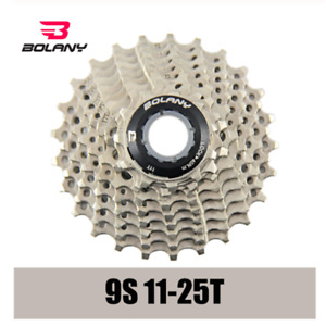 BOLANY Ultralight 9 Speed Cassette 11-25T Freewheel Bicycle Cassette  Sprocket