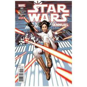 Star Wars (2015 series) Annual #2 in Near Mint condition. Marvel comics [*76]