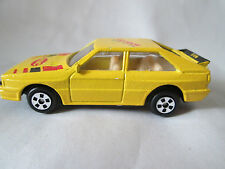 "Audi 900 Yellow ABC ""Mid-Four Die Beine Ihres Autos"" Diecast Car 1:64 - China"