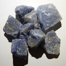 Blue Quartz (1 crystal) Natural raw rough healing third eye chakra reiki