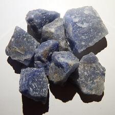 Blue Quartz (1 crystal) Natural raw rough healing third eye chakra reiki