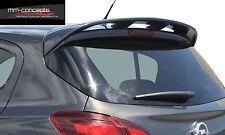 Dachspoiler Heckspoiler für Opel Corsa E Spoiler Dachkantenspoiler OPC GTC Van