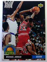 Rare Italian: 1992-93 Upper Deck Central All-Division Team Michael Jordan #43