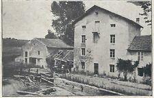 25/14 AK BIONCOURT LOTHRINGEN MIT MÜHLE FRANKREICH 1915 MUNDELSHEIM PFALZ LANDW.