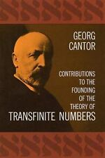 Contributions to the Founding of the Theory of Transfinite Numbers (Dover Books
