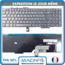 Clavier Lenovo Thinkpad T540 T540P T550 T560 P50s Noir Français Azerty