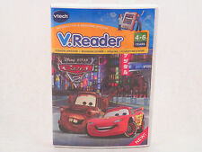 NEW Vtech V Reader Disney  Cars 2 Interactive E Reading Learning System Game