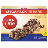 Fiber One Chewy Bar Oats & Chocolate 15 Bars Mega Pack 21.2 oz (Old Recipe) ✔️✔️
