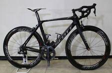 USED 2013 SCOTT FOIL Premium Di2 Road Bike Bicycle Carbon Black (54 cm) Medium
