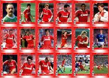 Liverpool FC 1989 FA Cup winners football trading cards