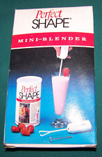 Perfect Shape Cordless Mini Mixer, Blender, Whipper Battery Operated, FREE S & H