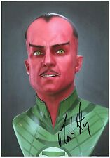 MARK STRONG - Signed 12x8 Photograph - FILM - THE GREEN LANTERN