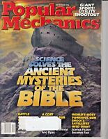 Popular Mechanics Magazine December 1996 Mysteries Of The Bible - Orbit