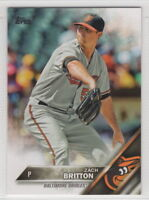 2016 Topps Mini Baseball Baltimore Orioles Team Set (22 cards)