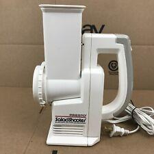 Presto  Salad Shooter Electric Slicer/Shredder Model 02910 0291003 6.A2