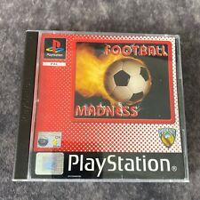 Fußball Madness ps1 Playstation 1 PAL Game komplett Phoenix