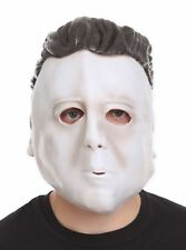 HALLOWEEN MICHAEL MYERS VINYL MASK SCARY HORROR MOVIE COSTUME COSPLAY BRAND NEW